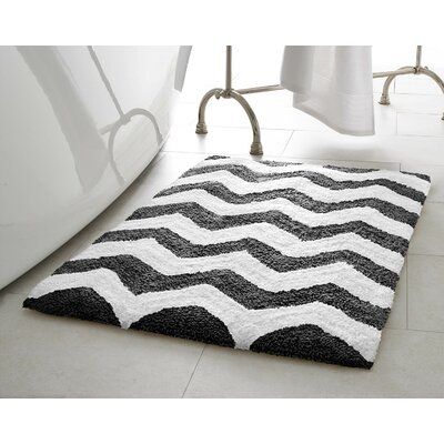 Dierdre Bath Mat Color: Gunmetal