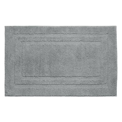 Plush Bath Mat Color: Wild gray, Size: 34 x 21