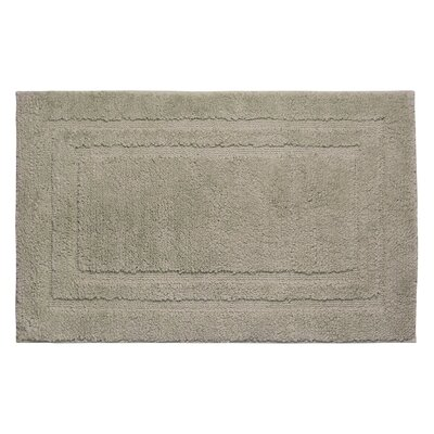Plush Bath Mat Size: 34 x 21, Color: Linen