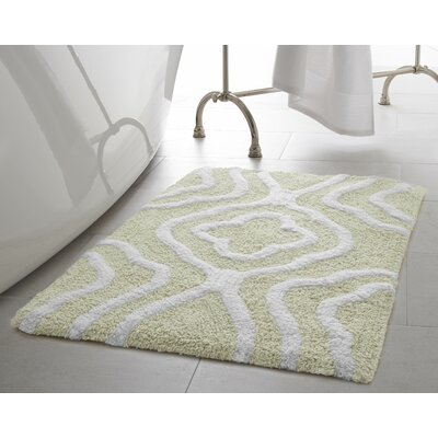 Giri 2 Piece Plush Bath Mat Set Color: Ivory