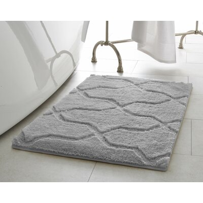 Pearl Drona 2 Piece Bath Mat Set Color: Light Gray