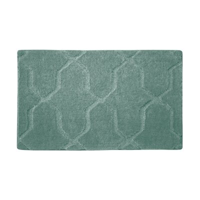 Pearl Drona Bath Mat Size: 24 x 17, Color: Lake Blue