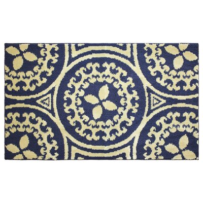 Mimosa Navy/Berber Area Rug Rug Size: 24 x 4