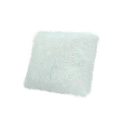 Throw Pillow Color: Aqua