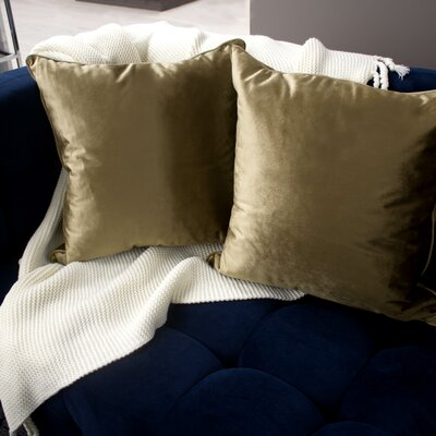 Lucas Throw Pillow Color: Taupe