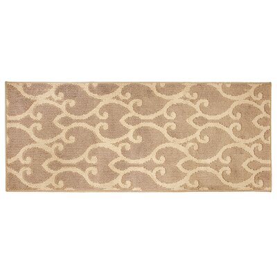 Donnie Beige Area Rug Rug Size: Runner 2 x 5