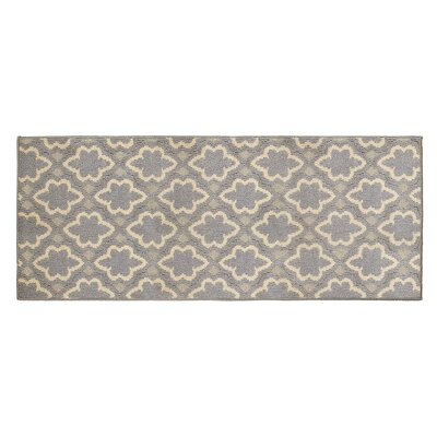 Dashi Gray/Beige Area Rug Rug Size: Runner 2 x 5