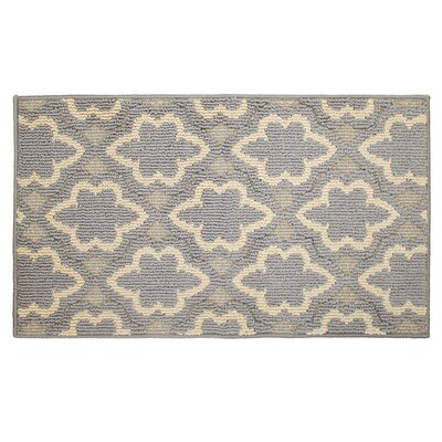 Ardal Gray/Beige Area Rug Rug Size: 18 x 210