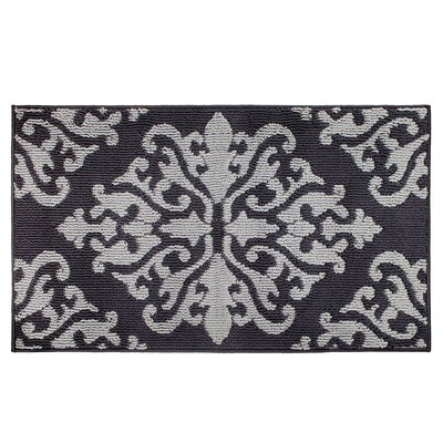 Cole Gray/Black Area Rug Rug Size: Rectangle 2 x 34