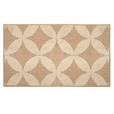 Valencia Beige Area Rug Rug Size: 1'8