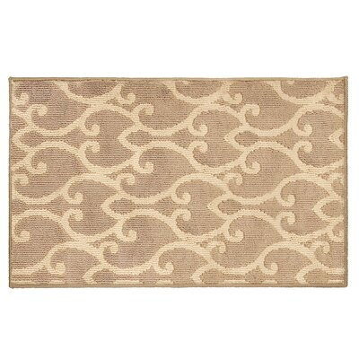 Donnie Beige Area Rug Rug Size: 24 x 4