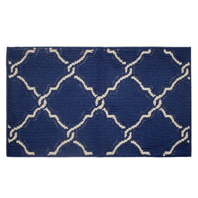 Yohan Blue Beige Area Rug Rug Size: 18 x 210