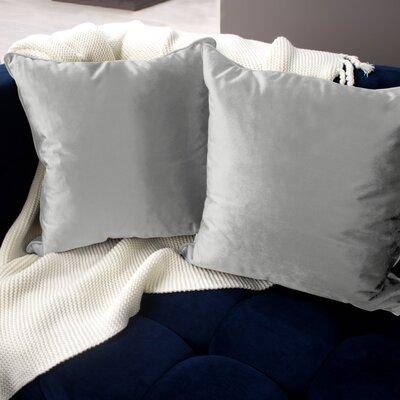 Lucas Throw Pillow Color: Light Gray