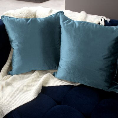 Lucas Throw Pillow Color: Navy