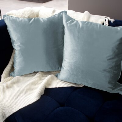 Lucas Throw Pillow Color: Harbor Blue