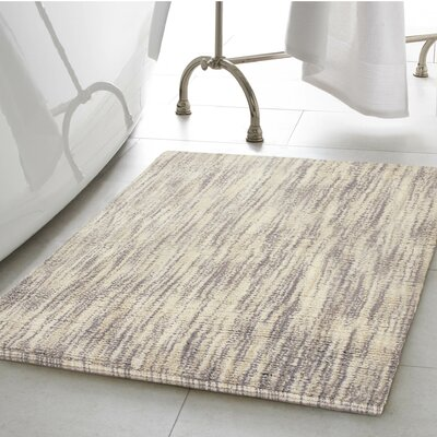 Boell 2 Piece Cotton Slub Bath Rug Set Color: Taupe