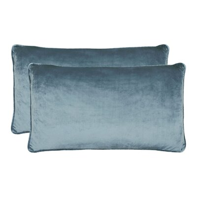 Creekwood Lumbar Pillow Color: Navy