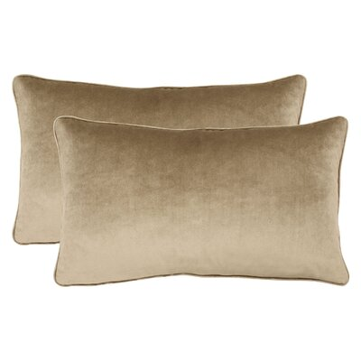 Creekwood Lumbar Pillow Color: Taupe