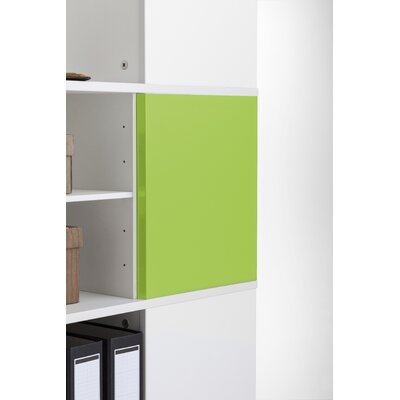 Magnetic Boards for Cube Binder & File Carousel Shelving Color: Green