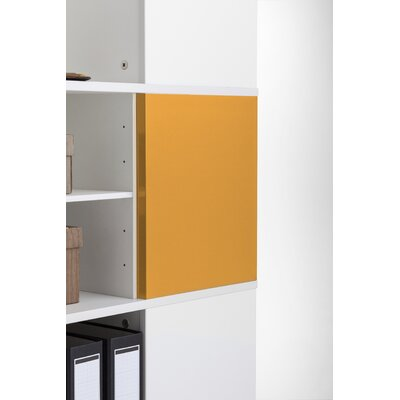 Magnetic Boards for Cube Binder & File Carousel Shelving Color: Orange