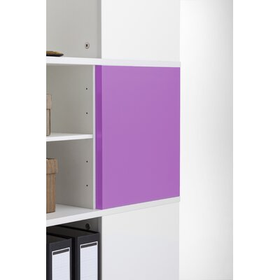 Magnetic Boards for Cube Binder & File Carousel Shelving Color: Pink