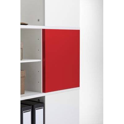 Magnetic Boards for Cube Binder & File Carousel Shelving Color: Red