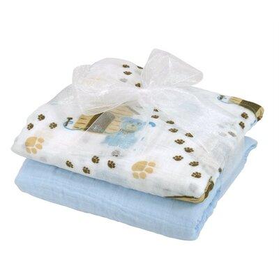 Stephanbaby 2 Piece Swaddle Blanket Set