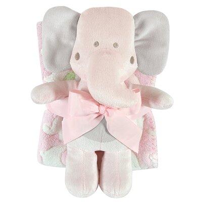 Blanket and Elephant Toy Set 120406