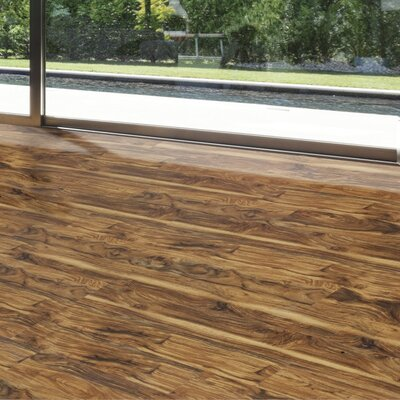 Exotic 5 5.25 x 64 x 12mm Walnut Laminate Flooring in Honey