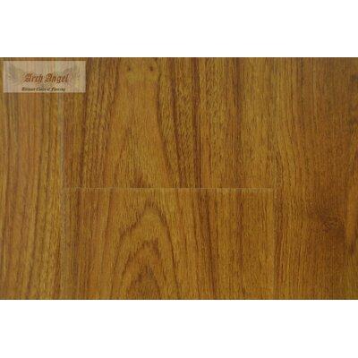 0.75 x 2 x 94 Canadian Maple Overlap Stair Nose in Santa Fe Teak
