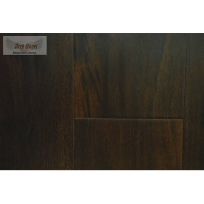 1.0 x 2.75 x 94 Canadian Maple Flush Stair Nose in Tobacco Ash