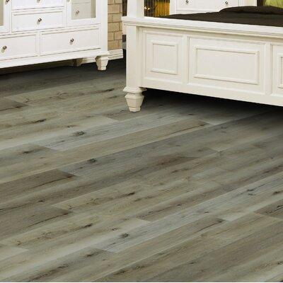 "Oasis 8"" X 48"" X 12mm European Oak Laminate Flooring In Arctic"