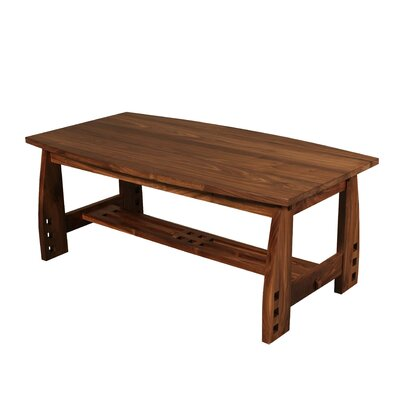Craftsman Coffee Table Color: Walnut