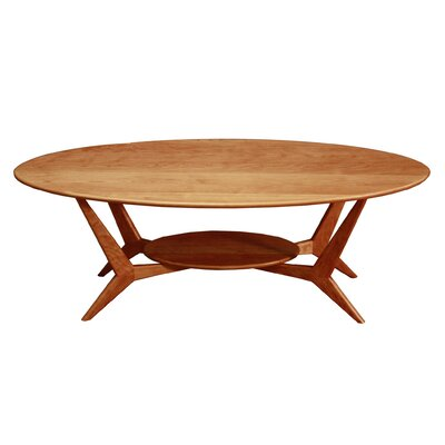 MidCentury Coffee Table Color: Cherry