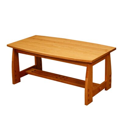 Craftsman Coffee Table Finish: Cherry