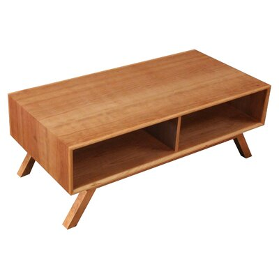 MidCentury Coffee Table Finish: Cherry