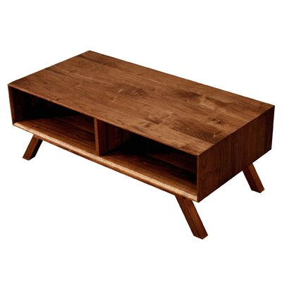 MidCentury Coffee Table Finish: Walnut