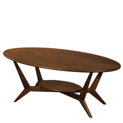 MidCentury Coffee Table Color: Walnut