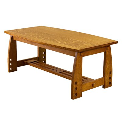 Craftsman Coffee Table Finish: Quartersawn White Oak