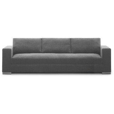 Space Sofa Upholstery: Gray