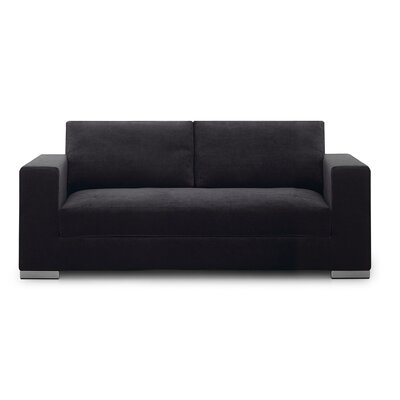 Space Sofa Upholstery: Black