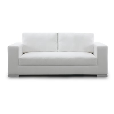 Space Sofa Upholstery: White