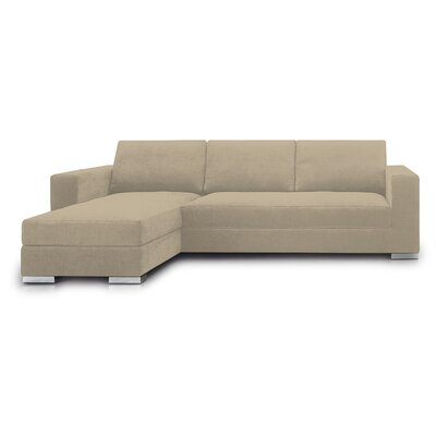De Rosso XSPE62S/l266 Space Leather Modular Sofa