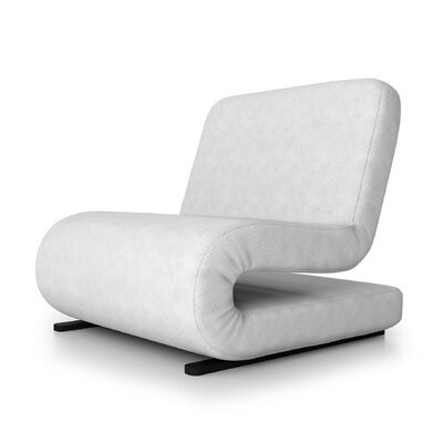 Brando Sleeper Loveseat Upholstery: White