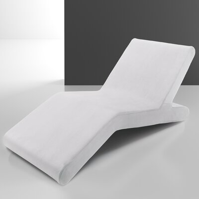 Woc Chaise Lounge Upholstery: White