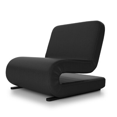 Brando Convertible Chair Upholstery: Black