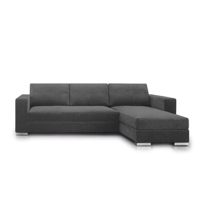 Space Sectional Upholstery: Gray