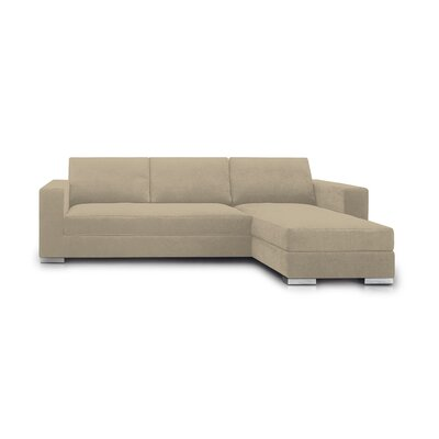 Space Sectional Upholstery: Beige