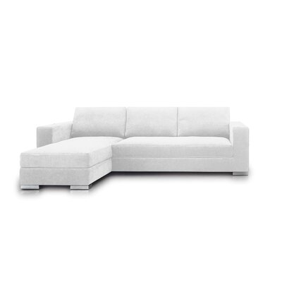 Space Sectional Upholstery: White