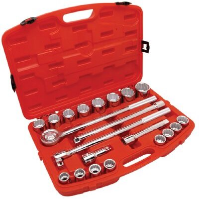 "Cooper Tools 21 Piece 3/4"" Drive Standard Mechanics Tool Set at Sears.com"
